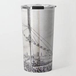 Johannes Hevelius - Celestial Devices, Part 1 - Plate 1 Travel Mug