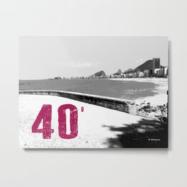 40 degree Metal Print