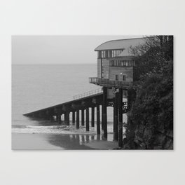 Tenby Lifeboat Station Canvas Print