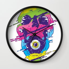 Funny Christmas Gift Idea T Shirt Wall Clock