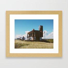 Camera House, Biddeford Pool, ME Framed Art Print
