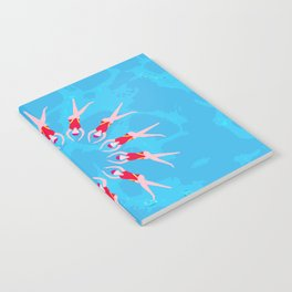 Synchronized Swimmers Notebook