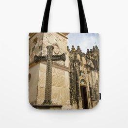 Catholic Church Iglesia La Merced in Granada, Nicaragua Tote Bag