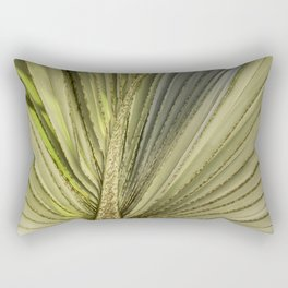 Leaf Peacock Rectangular Pillow