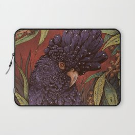 Black Cockatoo Laptop Sleeve