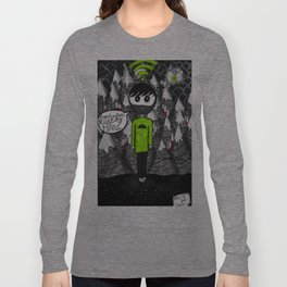 """Psychic syndromes : """"Thought insertion syndrome"""" by Anxiety and Gretel Long Sleeve T-shirt"""