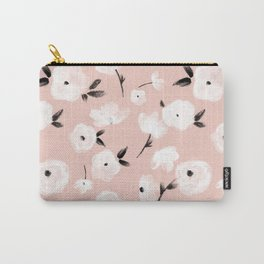 Brushed Florals Carry-All Pouch