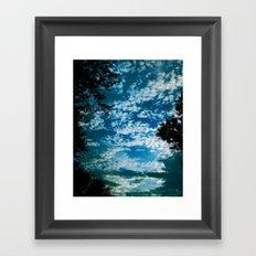 THOSE SUMMER NIGHTS Framed Art Print