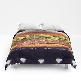 Juicy Hamburger Comforters