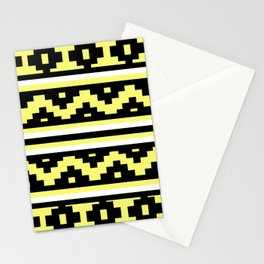 Etnico Yellow version Stationery Cards