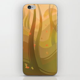 Enchanting Autumn Forest iPhone Skin