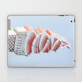 Ice cream eat neon Laptop & iPad Skin