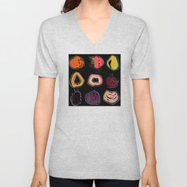 Exotic fruits 2 Unisex V-Neck