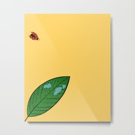 Ladybug: I Spy  Metal Print