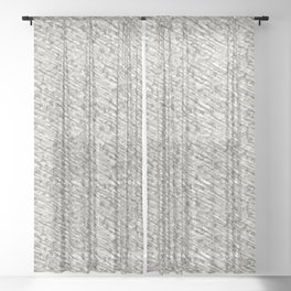 Gray Winter Army Camouflage Sheer Curtain