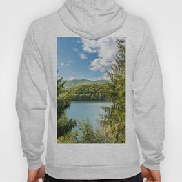 Carpathian Mountains View In Romania, Summer Landscape, Transylvania Mountains, Forests Of Romania Hoody