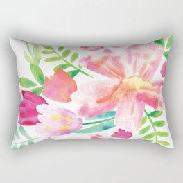 Watercolor spring Rectangular Pillow