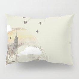 New York City Drifting Pillow Sham
