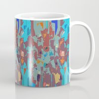 camo Mugs featuring Camo by Lara Gurney