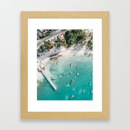 Where The Boats Leave From Framed Art Print