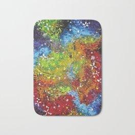 Rainbow Galaxy Bath Mat