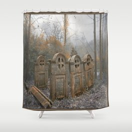 Resting Place of the Sisters of Charity Shower Curtain