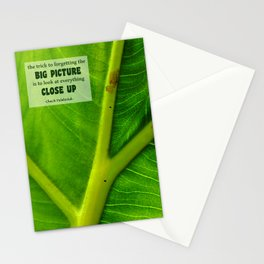 Look At Everything Close Up Stationery Cards