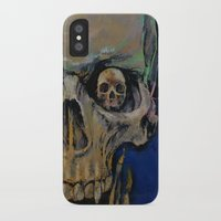 the vampire diaries iPhone & iPod Cases featuring Vampire by Michael Creese