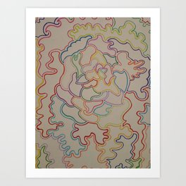 Outlines Art Print