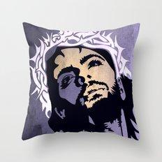 Jesus minimal  Throw Pillow