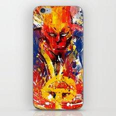 Red T iPhone & iPod Skin