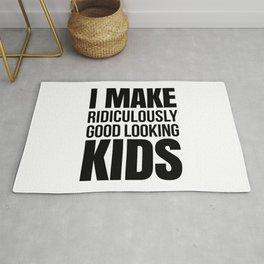 I MAKE GOOD LOOKING KIDS Rug