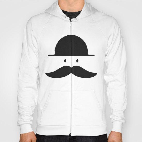 mustache Hoody
