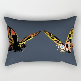 Godzilla vs. Mothra Rectangular Pillow