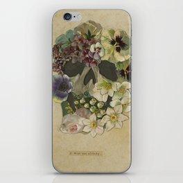 I Miss You Already. iPhone Skin