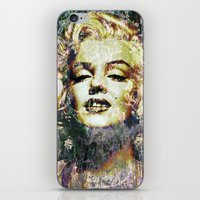 marilyn iPhone & iPod Skins featuring MARILYN by Vonis