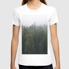 Into the Forest I go – Moody Landscape Photography T-shirt