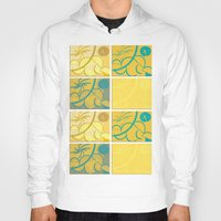 sun and moon Hoodies featuring Lemon Sun and Moon by World Raven
