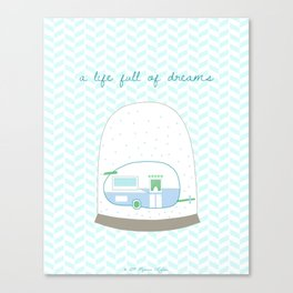 A life full of dreams Canvas Print