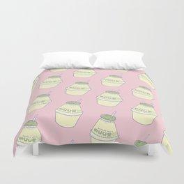 Banana Milk Duvet Cover