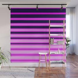 Vaporwave Stripes! Wall Mural
