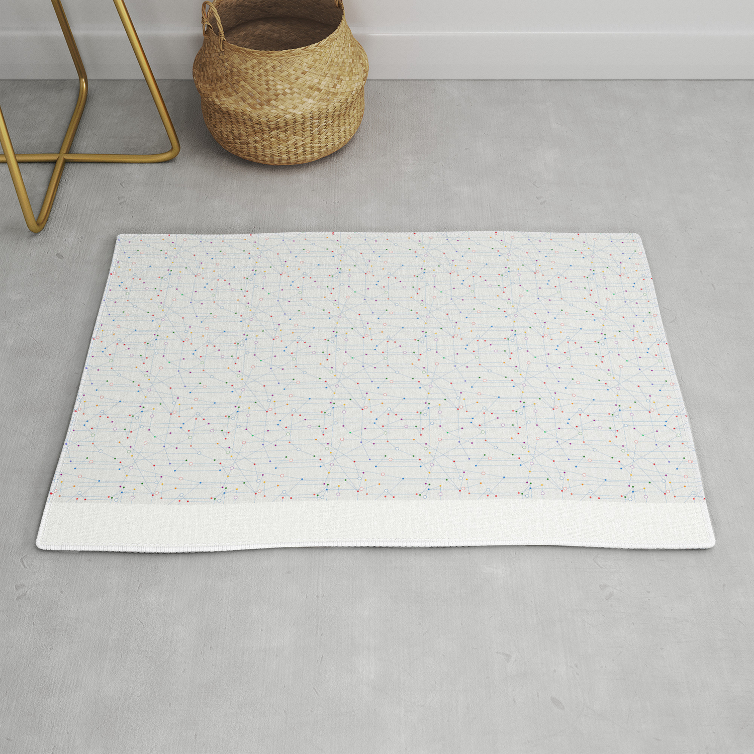The Network Rug By Rceeh Society6
