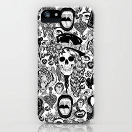 Danse Macabre iPhone Case