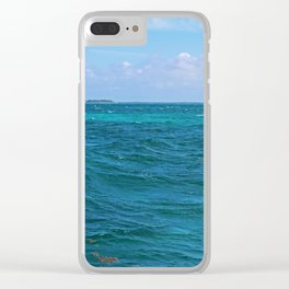 The Caribbean Sea Clear iPhone Case
