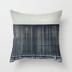Prison Wall II Throw Pillow