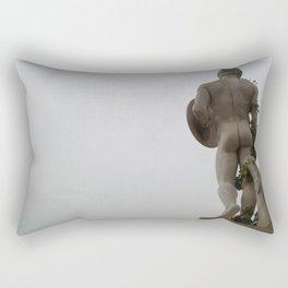 The naked man Rectangular Pillow