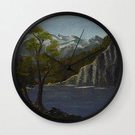 Lake Serenity Wall Clock