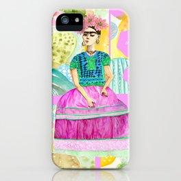 a dream of Frida iPhone Case