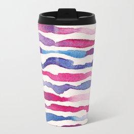 Twilight Zebra Chevron Travel Mug