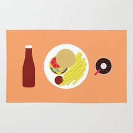 Ketchup Meal Rug